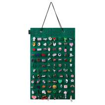 KGMcare Wall Hanging Pin Display Organizer Brooch Pin Collection Storage Holder for Home Decoration, Holds up to 96 Pins