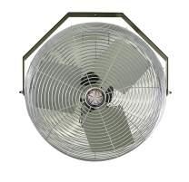 TPI Corporation U18-TE Industrial Workstation Fan – 120 Volt 360 Degree Horizontal, Vertical Swirl Air Circulator. Venting Exhaust Fans