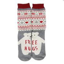 Novelty Cool Crazy Gift Socks, Gmark Unisex Colorful Cartoon Cotton Socks 1-6 S/M/L