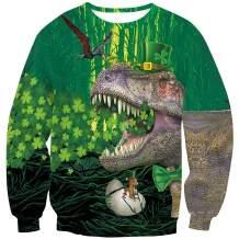 Arvilhill St Patrick's Day Men's Irish Long Sleeve Sweatshirt