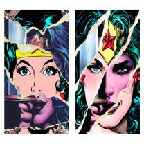Wonder Woman Canvas Wall Art Set Of 2Piece