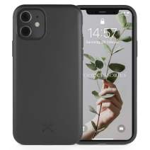 Woodcessories - Case Compatible with iPhone 11 - Sustainable, Organic Case (Black)