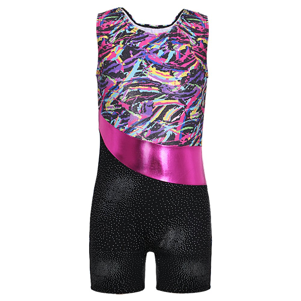 DAXIANG Gymnastics Leotard for Girl Colorful Ribbons Dance Clothes Ballet Tutu 3-15 Years