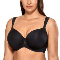 AISILIN Women's Plus Size Bras T-Shirt Lightly Lined Full Coverage Comfort Wide Strap