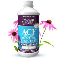 Buried Treasure ACF Fast Relief Rapid Immune Recovery with 1,000 mg Vitamin C, Elderberry, Echinacea and Herbal Blend for Complete Immune Support Dietary Supplement, 16 oz