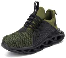 SUADEX Safety Shoes Men Women Steel Toe Shoes Lightweight Indestructible Work Shoes Construction Composite Toe Shoes