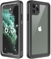 COMEPROOF iPhone 11 Pro Max Case,Built in Screen Protector 360° Full Body Protective Shockproof Dirtproof Case for iPhone 11 Pro Max 2019 Released 6.5inch (Black)