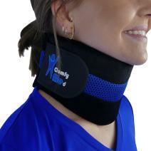 """ComfyMed® Neck Brace CM-NB18 Cervical Neck Support Collar for Men and Women (REG 12"""" to 15"""")"""