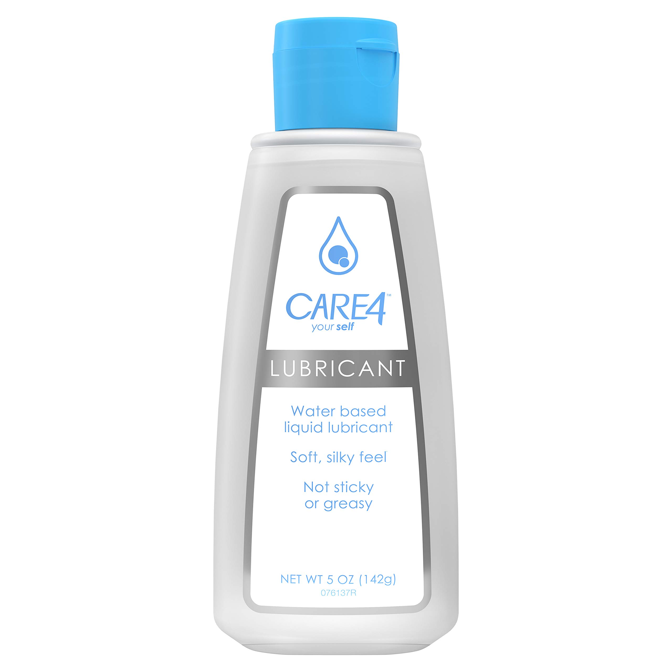 Care4 Personal Liquid Lubricant, Water-based - Soft, Silky Feel - not Sticky or Greasy, 5oz Bottle