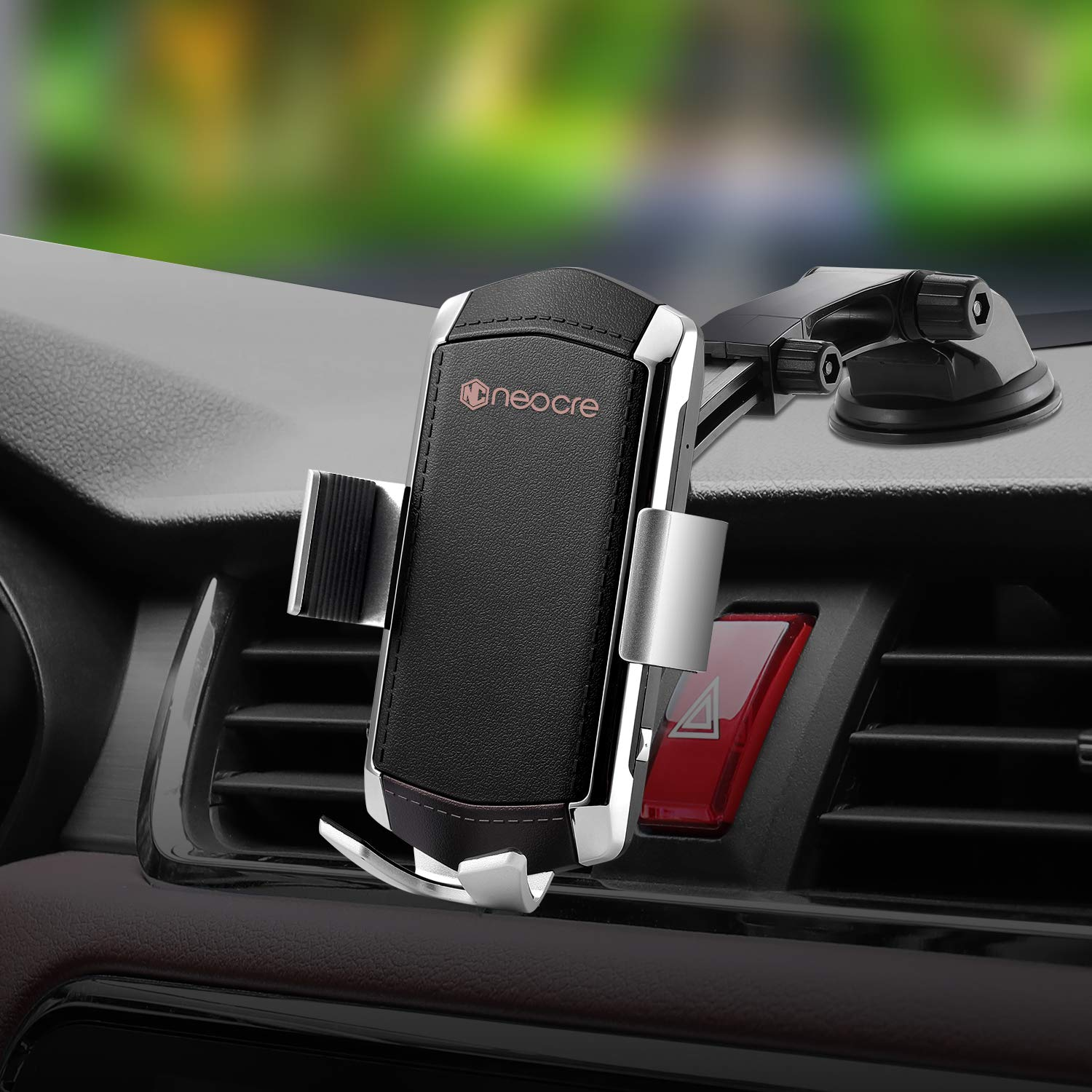 Automatic Clamping 10W//7.5W Qi Fast Charging 5W Car Mount Holder Dashboard Compatible with iPhone Xs//Xs Max//XR//X//8//8 Plus,Galaxy S10//S10+//S9//S9+//S8//S8+//Note 9//Note ABLGGRID Wireless Car Charger Mount