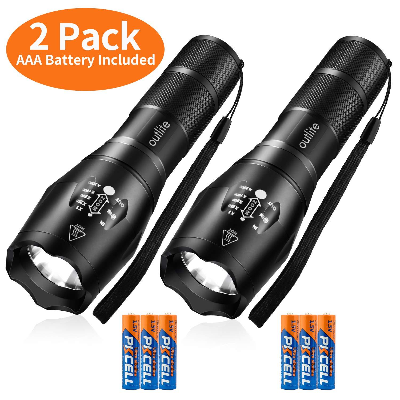 Garberiel 3 Pack USB Pen Light LED Torch for Nurses,Stainless Steel Medical Pock