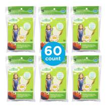 Neat Solutions Sesame Street Potty Topper Disposable Toilet Seat Cover with Adhesive Strips for On-The-Go Protection, 60 Count