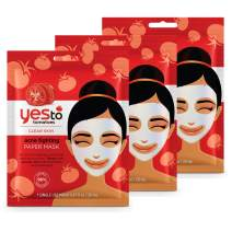 Yes To Tomatoes Acne Fighting Paper Mask - 3 Pack