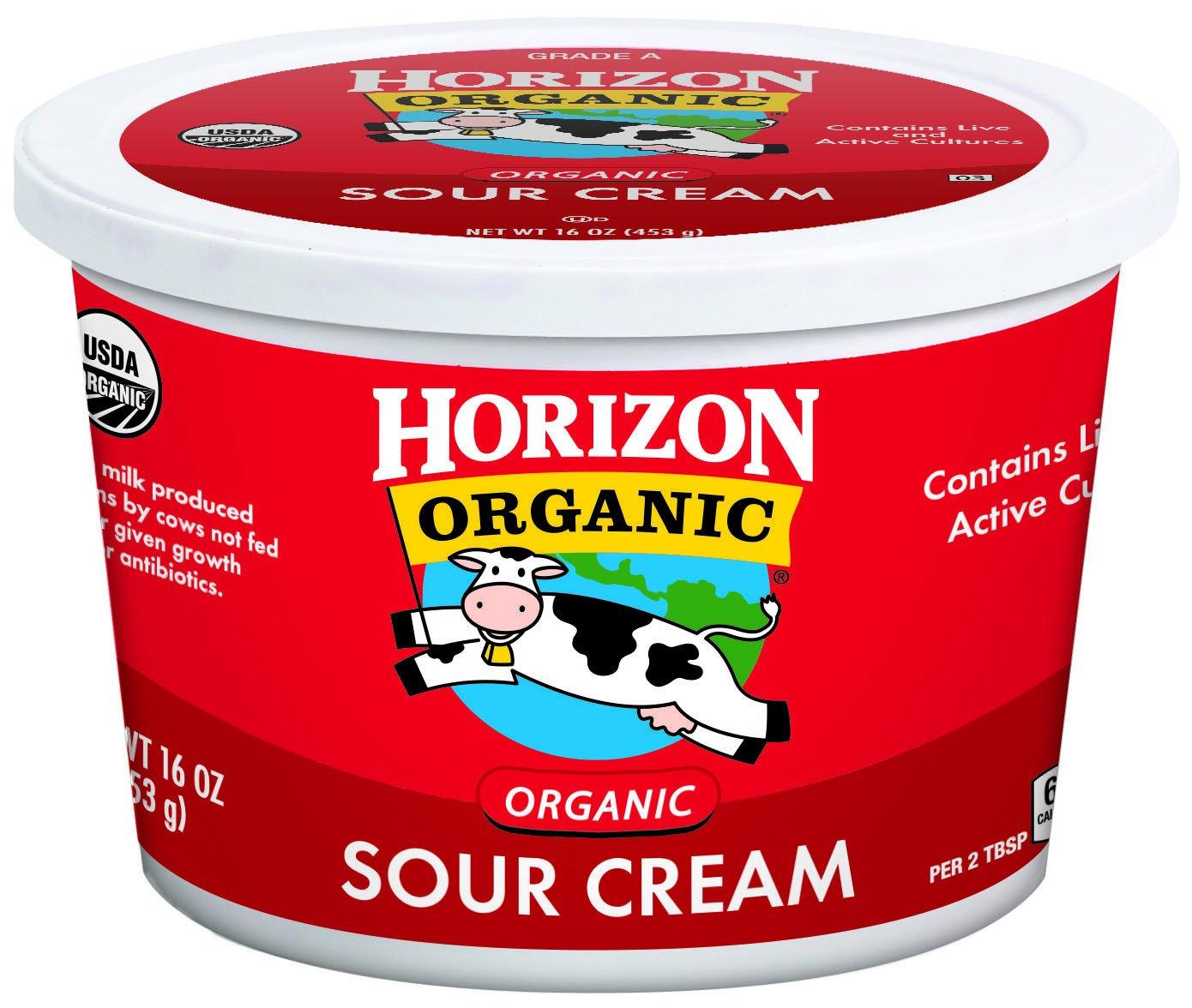 Horizon Organic Cultured Sour Cream, 16 oz.