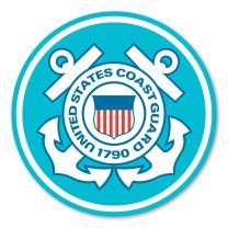 Magnet America Coast Guard Large Seal Decal