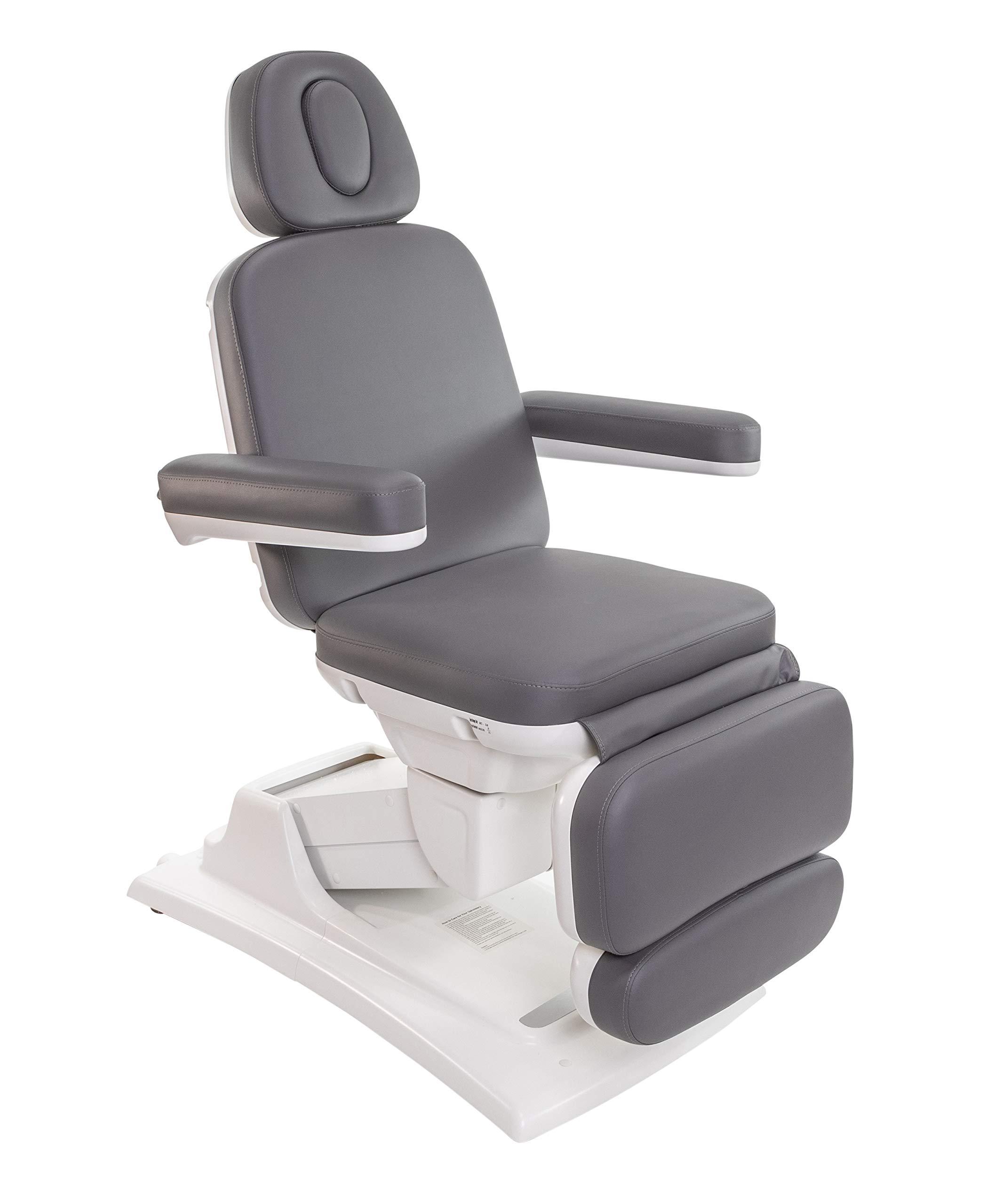 Sibella Medi Spa Electric Exam Chair Facial Bed (Charcoal)