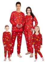 TUPOMAS Christmas Family Matching Pajamas Set Men Women Pyjamas Boys Girls Xmas Santa Pjs Toddlers Kids Sleepwear