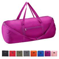 Vorspack Duffel Bag 20-24-28 Inches Foldable Gym Bag for Men Women Duffle Bag Lightweight with Inner Pocket for Travel Sports