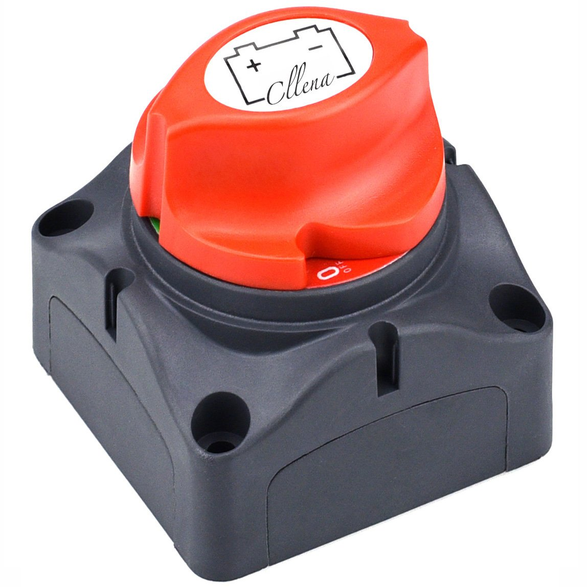 Cllena Battery Disconnect Isolator Switch for Marine Boat Car Rv ATV Vehicles