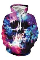 Mens Hoodies 3D Digital Print Pullover Unisex Hooded Sweatshirts with Pockets
