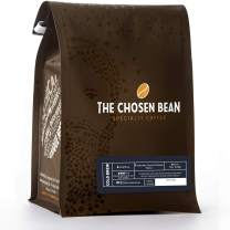 The Chosen Bean Premium Artisan Cold Brew Whole Coffee Beans, Small Batch Roasted, Organic and Fair Trade Roasters, 12 oz