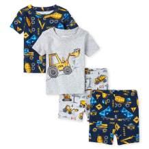 The Children's Place Baby Boys' 4-Piece Pajama Set
