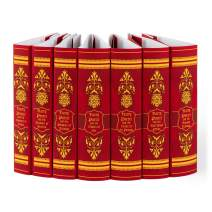 Juniper Books Harry Potter Gryffindor House Custom DUST Jackets ONLY (Books Not Included) | for Your Seven-Volume Hardcover Book Set