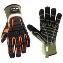 Cestus Pro Series Deep II Grip Miners Impact Glove, Work, Cut Resistant, Large (Pack of 1 Pair)