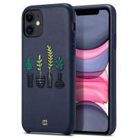 CYRILL [Leather Collection Leather Case Designed for iPhone 11 (2019) - The Vases