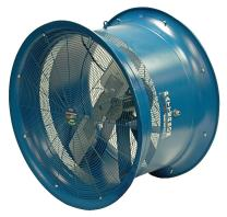 "Patterson Fan H26B-CS High Velocity Fan, Three-Phase, 3 Blades, 26"" Diameter, 230/460 Volts, 150ft Air Throw Distance"
