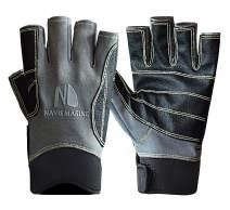 Navis Marine Sailing Gloves for Men Women Rowing Boating Fishing Kayaking All Water Sports Perfect UV Protection Short Finger