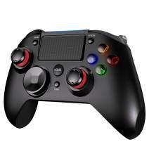 PICTEK PS4 Controller, 3-in-1 Wireless Gaming Controller