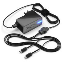 Rapid Charger Dual Ac Adapter for Use with New Hd, Hdx Tablet, Phone Power Supply Cord for Accelerated Charging