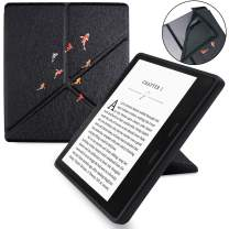 WALNEW 7 Inch Origami Case For Kindle Oasis (10th and 9th Gen, 2019 and 2017 Released) – Slim Lightweight Stand Case TPU Soft Back Cover with Auto Wake/Sleep