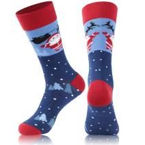 Christmas Casual Socks, JPGO Festive Colorful Holiday Family Novelty Socks Gift