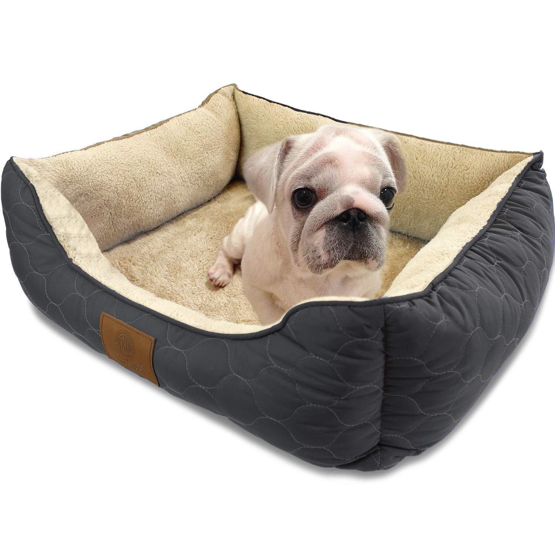 American Kennel Club Orthopedic Circle Stitch Cuddler Pet Bed