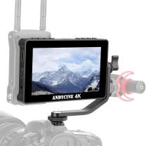 ANDYCINE A6 Pro Camera Field Monitor, 5.5 Inch Touch Screen FHD Type C Power 3D LUT 4K HDMI Input Output with F970 External Kit Install for Hollyland Mars,LED Light,Video Converter