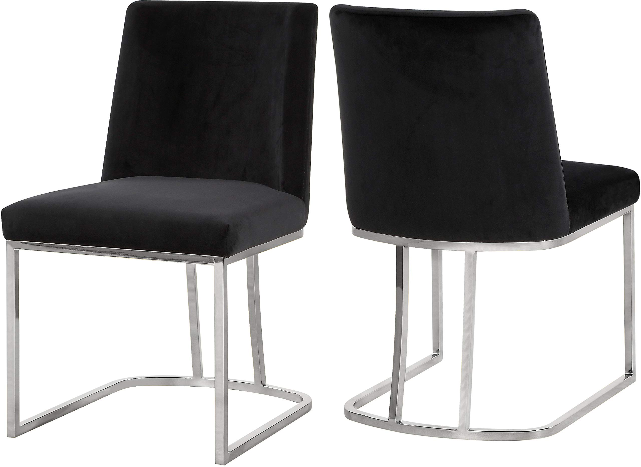 """Meridian Furniture 728Black-C Heidi Collection Modern 