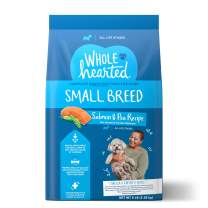 WholeHearted Grain Free Small Breed Salmon and Pea Recipe Dry Dog Food for All Life Stages