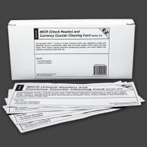 MICR/Check Reader Cleaning Cards (1)