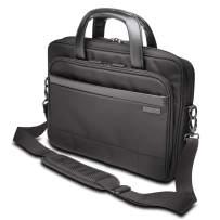 """Kensington Laptop Briefcase - Contour 2.0 14"""" Executive Laptop Briefcase, Small Shoulder Bag for Laptops & Tablets - Water-Resistant Secure Bags for Men & Women, Hand Luggage, Travel Bag (K60388EU)"""