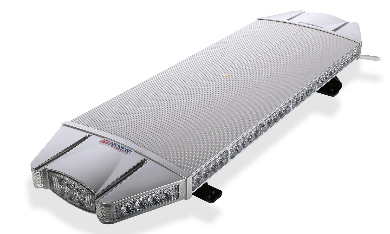 Falcon Flight Emergency 3 watt Low Profile Roof Mount Full LED Light Bar LED Light Bar 37 in (Green/White)