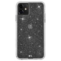 Case-Mate - iPhone 11 Sparkle Case - Sheer Crystal - Protective Design - 6.1 - Crystal Clear (CM041162)