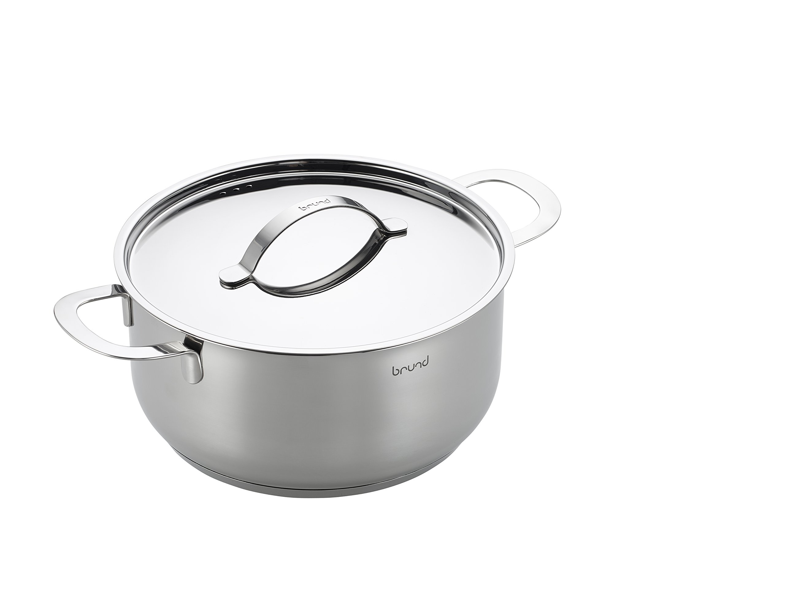 Brund Energy Dutch Oven, 5 Quart, Stainless Steel