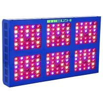 MEIZHI 900W LED Growing Light, Updated Reflector Plants Lamps Dual Switches Full Spectrum for Indoor Tent Veg Flowers - 180pcs LEDs,High Efficiency Grow Lights