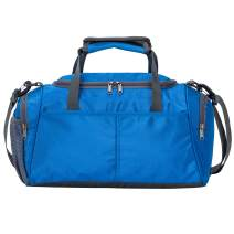 Kuston Small Sports Gym Bag Duffel bag mini travel duffel with shoe compartment for Men&Women