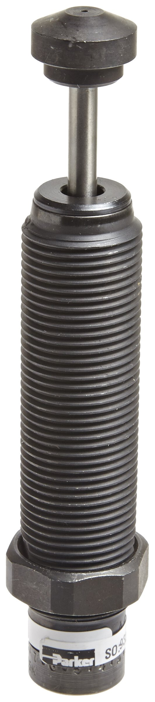 Parker MA225M Steel Adjustable Miniature Shock Absorber, Standard Duty, 3/4 inches Stroke, M20 Metric
