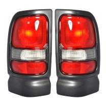 Right Passenger Side & Left Driver Side Tail Light Assembly For 1994-2001 DODGE RAM 1500 1994-2002 DODGE RAM 2500 1994-2002 DODGE RAM 3500 - CH2800122 CH2801122
