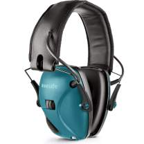 awesafeus Electronic Shooting Earmuff,Ear Protection Noise Reduction for Range