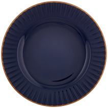Marchesa Shades of Blue Party Plate by Lenox